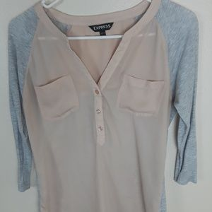 Express Long sleeve top Shirt
